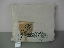 """USA Made NWOT The Presidents Cup 17"""" x 17"""" Tapestry Throw Pillow #111"""