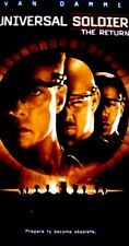 Universal Soldier: The Return (VHS, 1999, Closed Captioned)Jean-Claude Van Damme