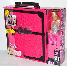 Mattel Barbie Fashionistas Ultimate Closet 20 Pieces and Doll 2014