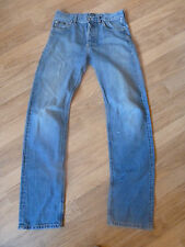 mens HUGO BOSS scout distressed style jeans - size 30/34 good condition