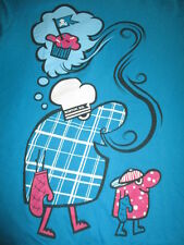 """JOHNNY - CUPCAKES """"COOKING Dreaming Golf"""" Brand BAKED - BOSTON, MA (MED) T-Shirt"""