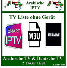 SMART IPTV Arab-araba TRASMETTITORE TV 2 giorni Arabic IPTV m3u Smart TV IP