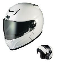 NEW OGK KABUTO AFFID WHITE Metallic XL Motorcycle System Helmet Japanese Model