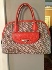 Beautiful DKNY Town And Country Domed Satchel EUC