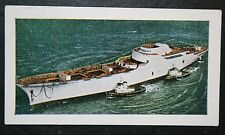 NS  Savannah   Nuclear Merchant Ship       Illustrated Colour Card