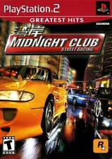 SONY PlayStation 2 PS2 Midnight Club Street Racing (GREATEST HITS VERSION)