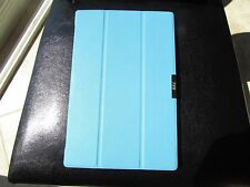 """FYY Sony Xperia Z2 10"""" Tablet Book Cover Case Blue Magnetic On/Off LOT of 18"""