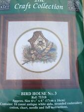 Bird House No. 3 The Craft Collection Cross Stitch Kit Not Started