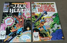 Marvel Comics Jack of Hearts Issues #1&2 ~1984 - lower grade