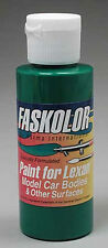 Parma Faskolor Green Lexan Body Paint 40005 2oz