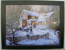 Snowman Pictures Christmas Snow Print Framed Country Pictures Prints Art