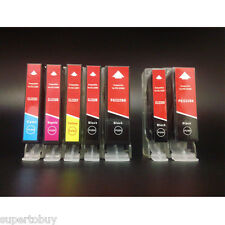 7 Pack PGI-225 CLI-226 SCIS Ink for Canon Pixma MG5120 MG5200 MG5220 MG5220 RFB