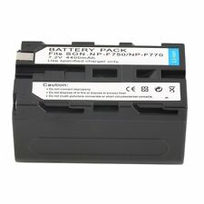 NEW 7.2V 4400MAH Replacement Li Ion Battery for Sony NP F750/770 /730 F7