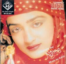 GHAZALS BY NAJMA - MUSIC BY RAVI - BRAND NEW CD - FREE UK POST
