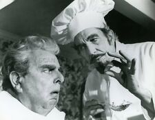 VINCENT PRICE ROBERT MORLEY THEATRE OF BLOOD 1973 VINTAGE PHOTO ORIGINAL N°3