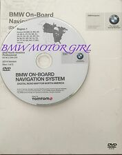 2014 Update 2004 to 2009 BMW M6 645Ci 645Cic 650i Navigation DVD EAST Coast Map