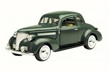 1939 Chevy Coupe, Green - Motor Max 73247WB - 1/24 Scale Diecast Model Toy Car