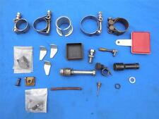 Moto Guzzi Mixed Parts Lot Clamps,Reflector,Fasteners,SparkPlug Cap Misc. MG995