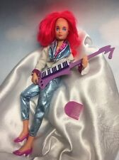 Jem and the Holograms KIMBER doll, clothes, shoes, keytar vintage Hasbro