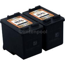 2 Patronen für HP C6656AE PSC 1350