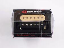 DiMarzio Regular Spaced Eric Johnson Custom Bridge Humbucker Black/Creme DP 212