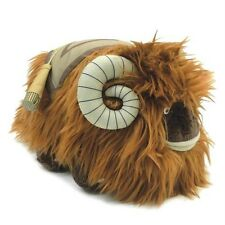 "STAR WARS Official Licensed 10"" BANTHA PLUSH Toy with Saddle for Tusken Raider"