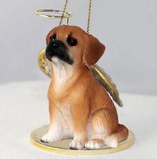 Puggle Angel Dog Christmas Ornament Holiday Figurine Statue