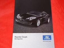 HYUNDAI Coupe 2.0 GLS + 2.7 V6 GLS Prospekt von 2007