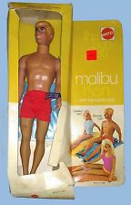 VINTAGE - MATTEL - MALIBU KEN DOLL - THE SUN SET - STOCK #1088 - BOXED - 1970