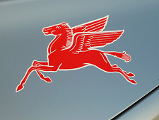 Mobil PEGASUS stickers ideal for Classic Vintage race cars Porsche Mercedes Audi