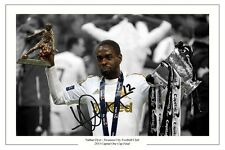 NATHAN DYER SWANSEA CITY CAPITAL ONE CUP FINAL SIGNED PHOTO AUTOGRAPH PRINT