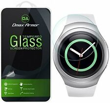 Dmax Armor® Samsung Gear S2 Tempered Glass Screen Protector Saver Shield