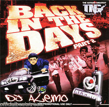 DJ Alemo Back in da Days Classic Old School Blends (Mix CD) Rap Hip Hop Mixtape