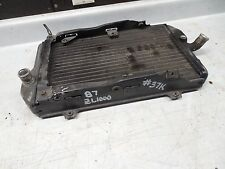 kawasaki ZL1000 Eliminator 1000 radiator assembly ZL900 900 1985 1986 1987