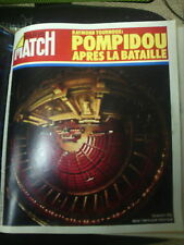 Paris Match n° 1245  17  mars 1973 sitting bull wounded knee sadate kroutchev