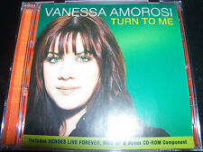 Vanessa Amorosi Turn To Me Enhanced Cd With Bonus Remixes CD