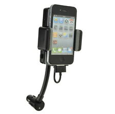 FM Transmitter+Car Charger for iPhone 4S 4 4G 3GS 3G 2G iPod Touch