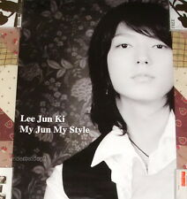 Korea IDOL Lee Jun Ki My Jun My Style Taiwan Promo Poster