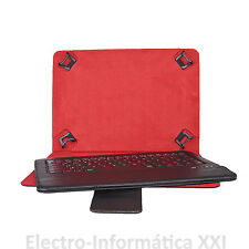 KIT FUNDA UNIVERSAL TABLET   9 -10.2 PULGADAS +TECLADO BLUETOOTH PHOENIX