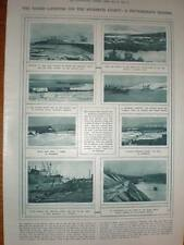 Photographs Allied Landing Murman coast Russia 1918