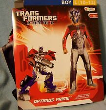 L 10-12 Transformers Prime Costume Disguise Child Kid Boy Halloween Play TOY NWT