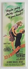 It's a Wonderful Life Fridge Magnet (1.5 x 4.5 inches) insert movie poster