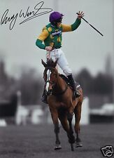 RUBY WALSH - KAUTO STAR AUTOGRAPH SIGNED PP PHOTO POSTER