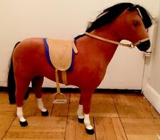 "AMERICAN GIRL DOLL Felicity ""Penny"" Horse Saddle Reins Stirrups PRISTINE"