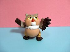 """Disney - Winnie The Pooh Plastic Owl Figurine 3"""" - Movable Joints Action Figure"""