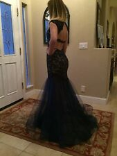$398 NWT CLAUDINE FOR ALYCE PARIS PROM/PAGEANT/ EVENING DRESS/GOWN #2318 4 6
