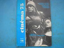 WERNER HERZOG KLAUS KINSKY AGUIRRE CINEMA 75 RIVISTA MAGAZINE FRENCH 1975