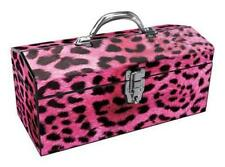 "16""PNK Leopard Tool Box,No 24-033,  SAINTY INTERNATIONAL LLC"