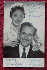 PEARL CARR AND TEDDY JOHNSON AUTOGRAPHED PHOTO