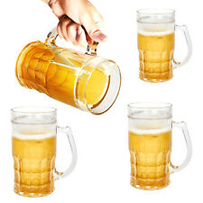 4 Evriholder 13oz Plastic Insulated Funny Chill'R Beer Mugs Glasses For Freezer